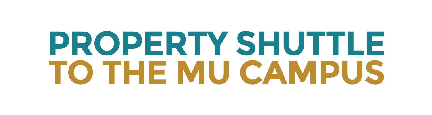 Property shuttle to the University of Missouri campus