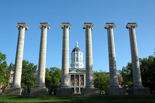 University of Missouri Jesse Hall