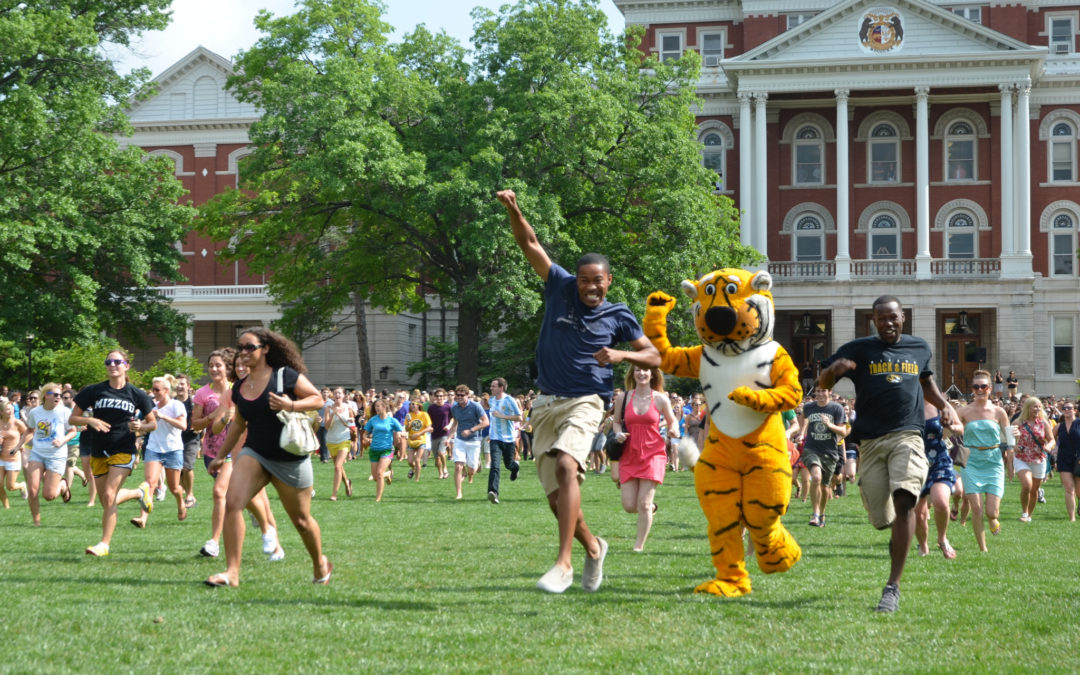 The Tiger Walk and Prowl: A University of Missouri Tradition